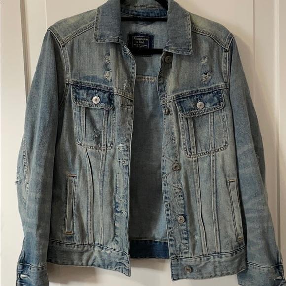 Abercrombie jean jacket!